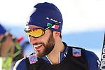 FIS Nordic Combined Men Individual Gundersen NH/10 km Ski World Cup in Predazzo, Italy on January 15, 2021, Raffaele Buzzi (ITA)