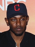 LOS ANGELES, CA, USA - MAY 01: Kendrick Lamar in the press room at the iHeartRadio Music Awards 2014 held at The Shrine Auditorium on May 1, 2014 in Los Angeles, California, United States. (Photo by Celebrity Monitor)