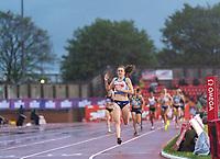 23rd May 2021; Gateshead International Stadium, Gateshead, Tyne and Wear, England; Muller Diamond League Grand Prix Athletics, Gateshead; Laura Muir wins the women's 1500 metres final