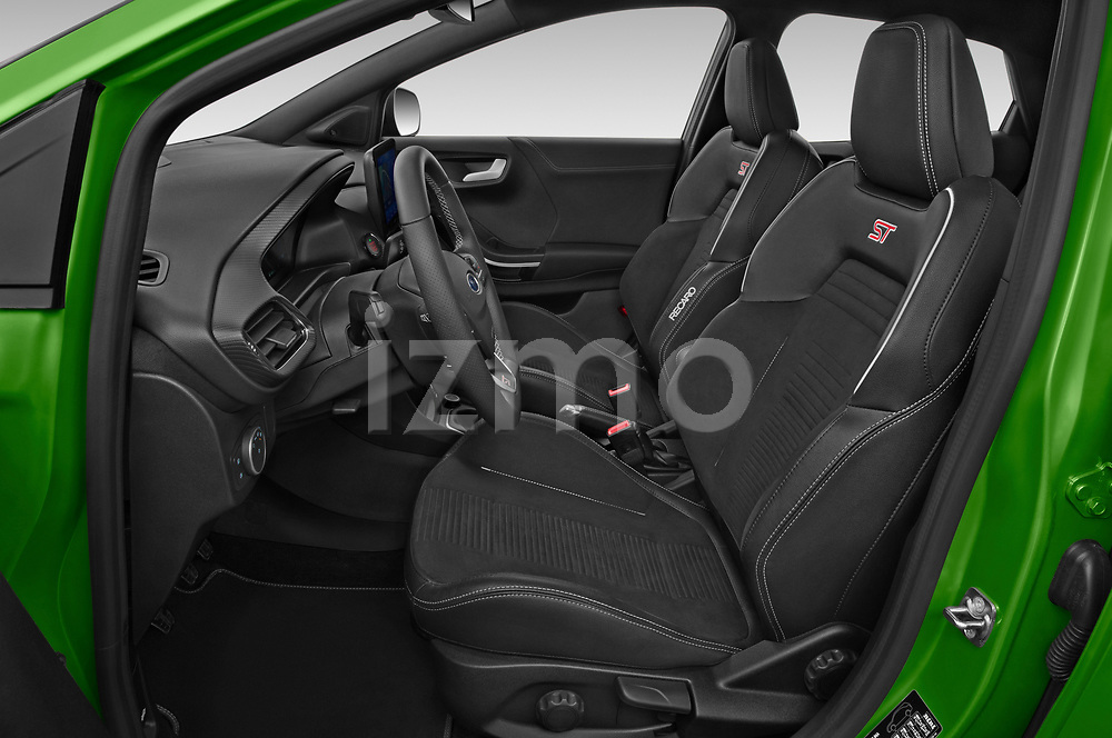 Front seat view of 2021 Ford Puma ST 5 Door SUV Front Seat  car photos