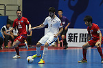 Bank of Beirut vs Chonburi Blue Wave during the 2014 AFC Futsal Club Championship Group Stage B match on August 26, 2014 at the Shuangliu Sports Centre in Chengdu, China. Photo by World Sport Group