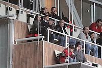 Real Madrid's Cristiano Ronaldo with his family during La Liga match.January 31,2015. (ALTERPHOTOS/Acero) /NortePhoto<br /> /NortePhoto.com