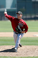 Trevor Harden - Arizona Diamondbacks - 2009 spring training.Photo by:  Bill Mitchell/Four Seam Images
