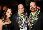 Nicki Keenan, Jon Chadwick and Tom Barton at the San Luis Salute hosted by Paige and Tilman Fertitta in Galveston Friday Feb. 12,2010.(Dave Rossman Photo)