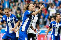 Deportivo Alaves' Alexis Ruano celebrates goal during La Liga match. October 28,2017. (ALTERPHOTOS/Acero) /NortePhoto.com