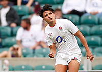 10th July 2021; Twickenham, London, England; International Rugby Union England versus Canada; Marcus Smith of England watching his place kick through the posts