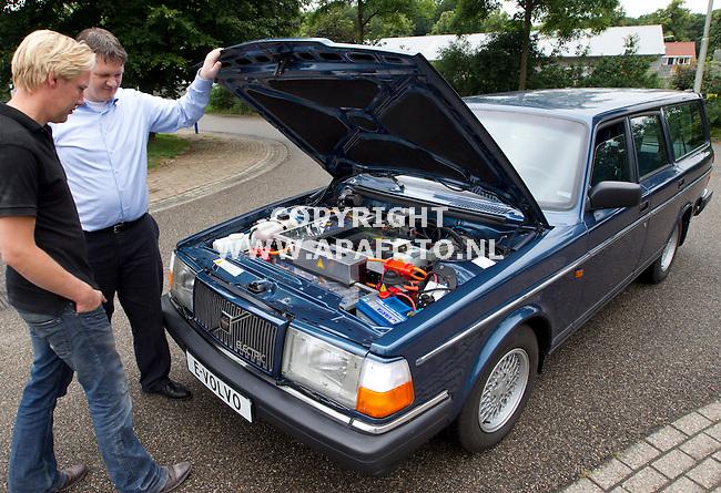 Vorden, 290612<br /> electrisch omgebouwde Volvo Oldtimer.<br /> Foto: Sjef Prins - APA Foto