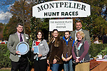 07 November2010:  Award for Expel winning the Madison Plate at Montpelier Hunt Races in Montpelier Station, Va. Expel is owned by Northfield Farm and trained by Edward Mulligan.     Susan M. Carter/Eclipse Sportswire