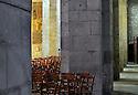 18/01/12 - EBREUIL - ALLIER - FRANCE - Eglise romane Saint Leger d Ebreuil - Photo Jerome CHABANNE