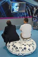 - SMAU, international exibition of electronics, computer science and technological innovation..- SMAU, salone internazionale dell'elettronica, informatica e innovazione tecnologica, stand Mediaset