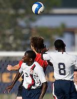 USA's Kofi Sarkodie (3) and Amobi Okugo (8). 2007 Nike Friendlies, which are taking place from Dec. 6-9 at IMG Academies in Bradenton, Fla.