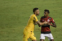 Volta Redonda (RJ), 05/04/2021 - MADUREIRA-FLAMENGO - Bruno Henrique (d), do Flamengo. Partida entre Madureira e Flamengo, válida pela oitava rodada da Taça Guanabara, realizada no Estádio Raulino de Oliveira, em Volta Redonda, nesta segunda-feira (05).