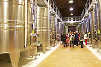 stainless steel tanks chateau la garde pessac leognan graves bordeaux france