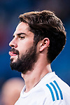 Isco Alarcon of Real Madrid in training prior to the La Liga 2017-18 match between Real Madrid and UD Las Palmas at Estadio Santiago Bernabeu on November 05 2017 in Madrid, Spain. Photo by Diego Gonzalez / Power Sport Images