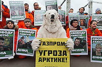Russia Greenpeace Protest