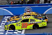 Brandon Jones, Joe Gibbs Racing, Toyota Camry Menards Jeld-Wen and Daniel Hemric, Richard Childress Racing, Chevrolet Camaro South Point Hotel & Casino