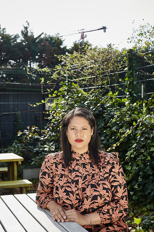 Photograph by John Angerson. <br /> 201019. Hannah Kendall (born 1984 in London) is a British composer currently based in New York. <br /> <br /> This image can be used in any media to promote the work of Hannah Kendal or in connection with the publicity of Hannah Kendall at no charge until November 2025.