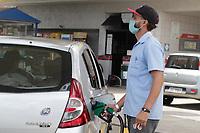 Campinas (SP), 09/02/2021 - Combustível - Movimentação em postos de combustíveis na cidade de Campinas, interior de São Paulo, nesta terça-feira (9). A Petrobras anunciou aumento de cerca de 8% no preço da gasolina a ser vendido pelas refinarias para as distribuidoras.