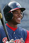 09 May 2006: Elvis Andrus of the Rome Braves. Photo by Tom Priddy. All rights reserved. Contact tom@tompriddy.com or http://www.tompriddy.com.