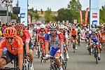 Thibaut Pinot (FRA) Groupama-FDJ crosses the finish line at the end of Stage 2 of the Route d'Occitanie 2020, running 174.5km from Carcassone to Cap Découverte, France. 2nd August 2020. <br /> Picture: Colin Flockton | Cyclefile<br /> <br /> All photos usage must carry mandatory copyright credit (© Cyclefile | Colin Flockton)