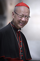 cardinal John Tong Hon.Pope Francis during of a weekly general audience at St Peter's square in Vatican, Wednesday.june19, 2019