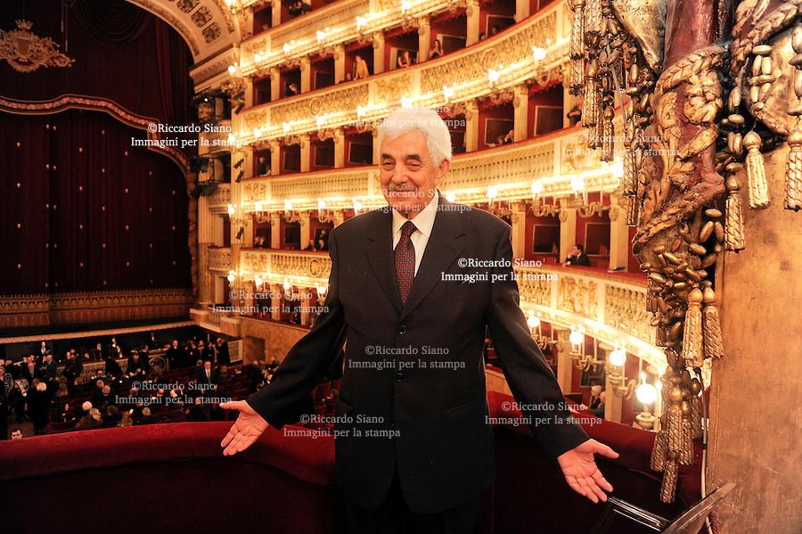 - NAPOLI 23 FEB -  Teatro San Carlo, Giuseppe Tesauro