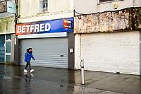 2020 11 02 Lockdown in Swansea, Wales, UK.