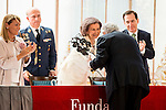 Queen Sofia of Spain and Plácido Domingo attends the social action awards 2015 of the Mapfre Fundation at Casino Madrid, Spain. June 18, 2015.<br />  (ALTERPHOTOS/BorjaB.Hojas)