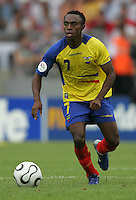 Christian Lara.  England defeated Ecuador, 1-0, in their FIFA World Cup round of 16 match at Gottlieb-Daimler-Stadion in Stuttgart, Germany, June 25, 2006.