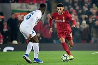 LIVERPOOL, GREAT BRITAN - NOVEMBER 5 : Alex Oxlade Chamberlain midfielder of Liverpool in action during the UEFA Champions League match between Liverpool FC and KRC Genk on November 05, 2019 in Liverpool, Great Britan, 5/11/2019 <br /> Liverpool 5-11-2019 Anfield <br /> Liverpool - Genk <br /> Champions League 2019/2020<br /> Foto Photonews / Panoramic / Insidefoto <br /> Italy Only