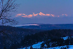 Mt. Musala Winter Sunset