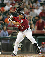 Astros OF Carlos Lee on Sunday May 25th at Minute Maid Park in Houston, Texas. Photo by Andrew Woolley / Four Seam Images..