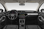 Straight dashboard view of a 2019 Audi Q3  Advanced 5 Door SUV
