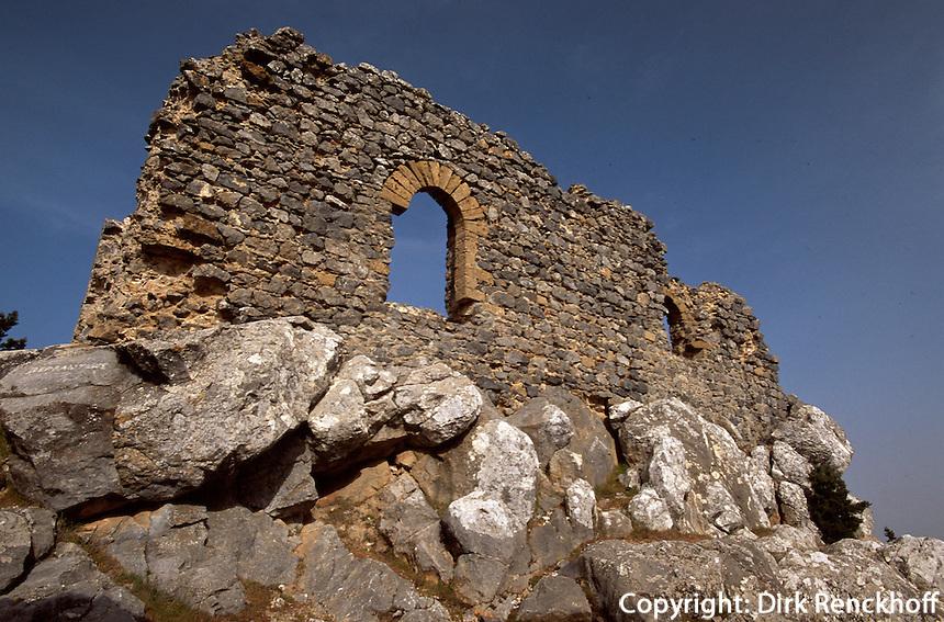 Zypern (Nord), Festung Buffavento (byzantinische Gründung)