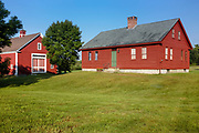 The Morrison House Museum, circa 1760, in Londonderry, New Hampshire USA which is part of scenic New England.