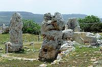 megalithischer Skorba-Tempel 5.JT v.Chr, Malta, Europa, Unesco-Weltkulturerbe