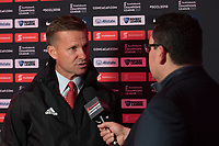Harrison, NJ - Thursday March 01, 2018: Jesse Marsch. The New York Red Bulls defeated C.D. Olimpia 2-0 (3-1 on aggregate) during a 2018 CONCACAF Champions League Round of 16 match at Red Bull Arena.