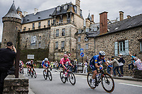 eventual stage winner Mark Cavendish (GBR/Deceuninck-Quick Step)<br /> <br /> Stage 4 from Redon to Fougéres (150.4km)<br /> 108th Tour de France 2021 (2.UWT)<br /> <br /> ©kramon