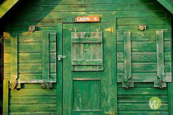 Old Camp Allagash. Cabin 4 graphic study.