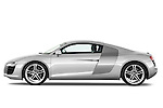Driver Side Profile View of 2008 - 2012 Audi R8 V8 FSI Stock Photo