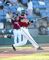 Brendan Duffy / Yakima Bears playing against the Boise Hawks - Boise, ID - 08/27/2008..Photo by:  Bill Mitchell/Four Seam Images