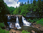 Blackwater Falls State Parkm, WV<br /> Blackwater Falls on the Blackwater River in summer; near the town of Davis, West Virginia
