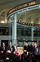 Tokyo Stock Exchange year-end closing ceremony