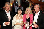 From left: Robert and Ann Edwardes (cq)  with Anne and Hal Goldie at the Pink Tie Gala at the InterContinental Hotel Saturday March 6,2010. (Dave Rossman Photo)