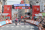 Magnus Cort Nielsen (DEN) EF Education-Nippo wins Stage 19 of La Vuelta d'Espana 2021, running 191.2km from Tapia de Casariego to Monforte de Lemos, Spain. 3rd September 2021.    <br /> Picture: Cxcling   Cyclefile<br /> <br /> All photos usage must carry mandatory copyright credit (© Cyclefile   Cxcling)