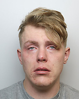 """Pictured: Ricky Lee Rossi<br /> Re: Ricky Lee Rossi, a 'dangerous and prolific offender' whose threats of violence left a lone shop worker shaking with fright during a robbery has been jailed for over three years by Swansea Crown Court, Wales, UK.<br /> Rossi, of Garnswllt, tried to assault a cashier at the Londis petrol station in Ammanford, before making off with two bottles of whiskey.<br /> Dyfed-Powys Police arrested the 26-year-old suspect at his home just one hour after the offence was reported on December 11, 2020.<br /> Detective Sergeant Rebecca Thomas said: """"This was an extremely distressing incident for the victim, who was simply doing his job when he was faced with threats of violence from a man he challenged about stealing from the shop.<br /> """"Rossi had been seen putting two bottles of whiskey down his trousers, and reacted strongly when approached by the victim. He grabbed the phone the victim was trying to use to call for help and made attempts to punch and kick him.<br /> """"Fortunately, the shop worker was not physically hurt during the incident, but he suffered ongoing effects from the fear he faced.""""<br /> The victim described feeling uneasy and worried following the incident.<br /> In a statement he said: """"I was shaking and shivering for about two or three days afterwards because of what happened. For those two or three days what happened was running through my mind.<br /> """"Since this happened if anyone comes into the shop who has the same body shape as the man that attacked me I instantly get nervous. I start looking at them to see if it's him coming back.""""<br /> CCTV enquiries were swiftly carried out, with footage showing the suspect – identified as Rossi – leaving the petrol station in a taxi. He was located at his home and was arrested on suspicion of robbery.<br /> He was charged with theft from a shop and robbery – pleading guilty to the first offence and being found guilty of the second at Swansea Crown Court.<br /> He was sentenced to 46"""
