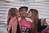 1st rider in pink (magnolia rosa) after stage 1: Tom Dumoulin (NLD/Giant-Alpecin)<br /> <br /> Apeldoorn prologue 9.8km<br /> 99th Giro d'Italia 2016