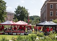 Athens, GA - September 2, 2017: The fifteenth ranked University of Georgia Bulldogs play the Appalachian State Mountaineers at Sanford Stadium.
