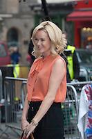 Britain's Got Talent in Edinburgh. Pictured Amanda Holden..Picture: Pavol Mraz/Universal News And Sport (Scotland). 11/ February 2012.
