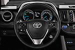 Car pictures of steering wheel view of a 2016 Toyota RAV4 Business Edition Plus 5 Door Suv Steering Wheel